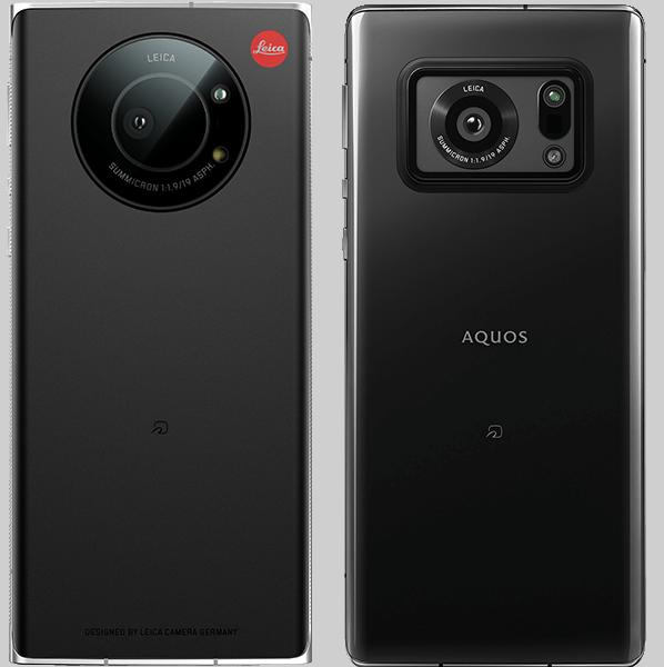 The Leitz Phone 1 (left) vs the Aquos R6 (right)